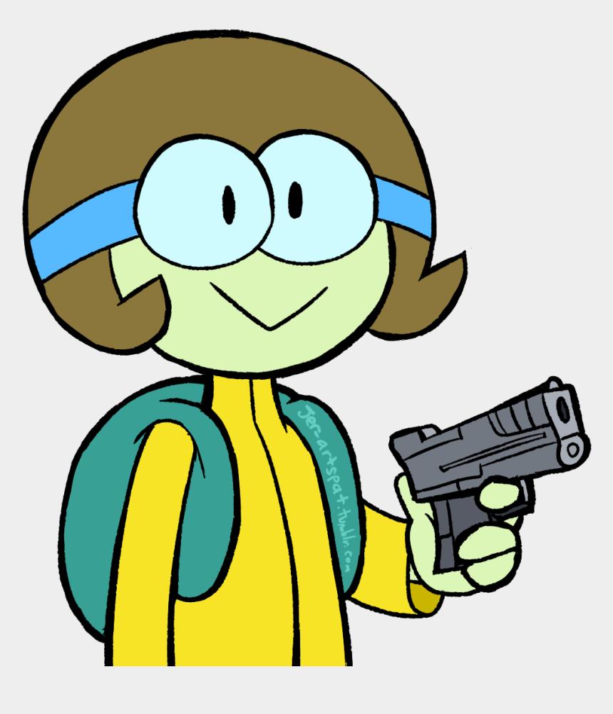 muzzleloader clipart, Cartoons - Browser Drawing Gun - Cartoon Characters With Guns