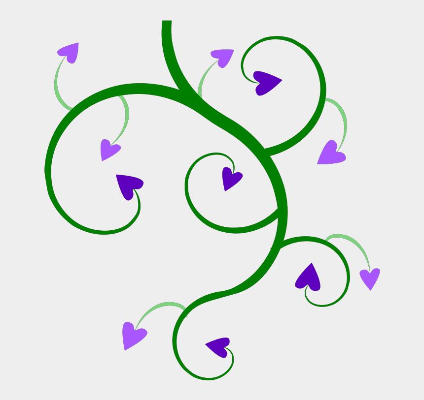 heart vine clipart, Cartoons - How To Set Use Heart Vine Green Svg Vector - Green Vines Clip Art
