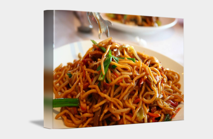chinese noodles clipart, Cartoons - Drawn Noodle Chow Mein - Dragon Palace Bbq Pork Lo Mein