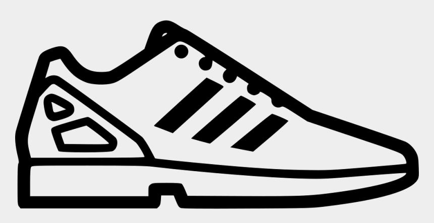 tie shoe clipart, Cartoons - Adidas Shoes Clipart Icon - Adidas Shoe Icon Png