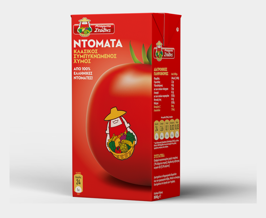 tomato juice clipart, Cartoons - Slightly Concentrated Tomato Juice, 500g - Μπαρμπα Σταθησ