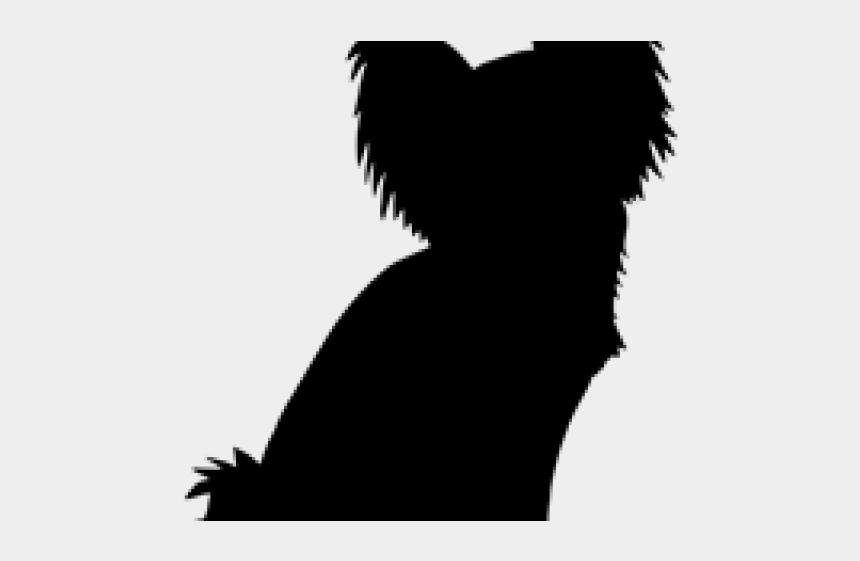 papillon dog clipart, Cartoons - Papillon Clipart Papillon Dog - Pomeranian Chihuahua Mix Silhouette