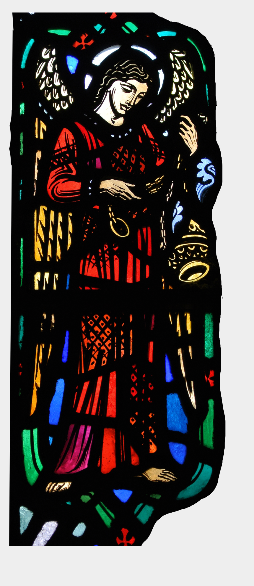 church windows clipart, Cartoons - The Subject Is The History Of Monumental Stained Glass - Illustration