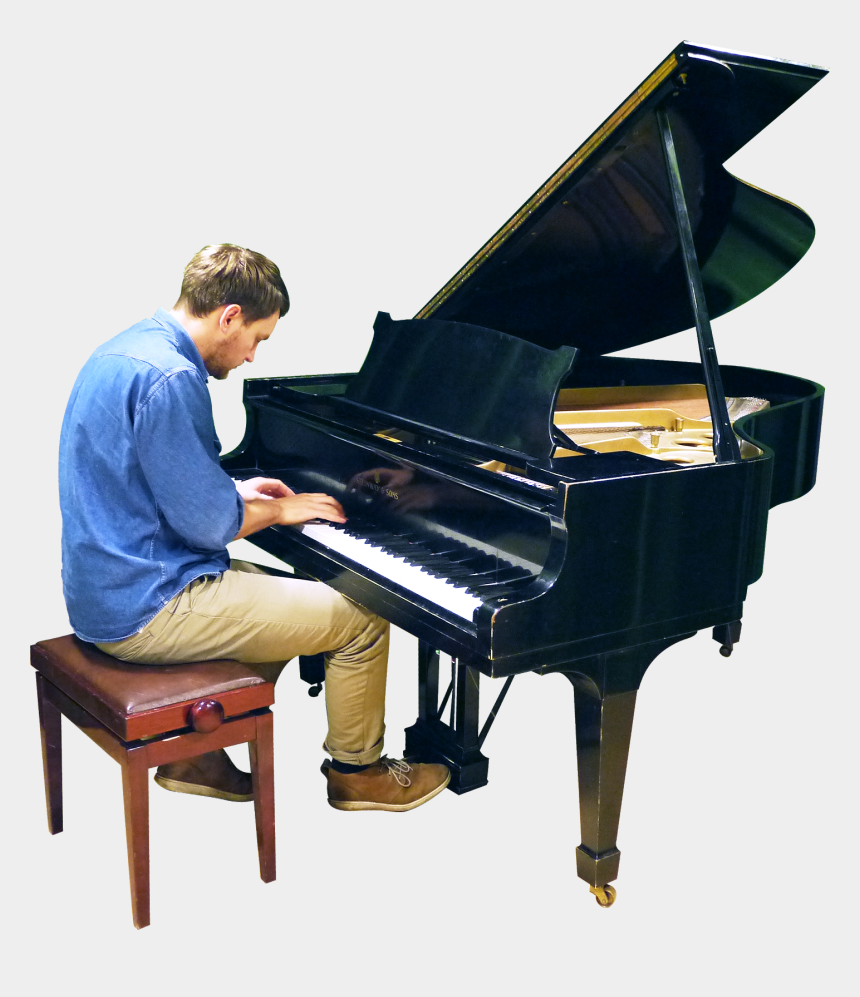 man playing piano clipart, Cartoons - Playing Grand Piano Png Image - Cut Out Piano Player