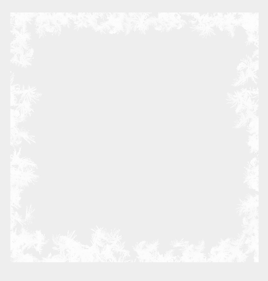winter frame clipart, Cartoons - #frost #pattern #snow #frame #snowflakes #winter #christmas - Floral Design