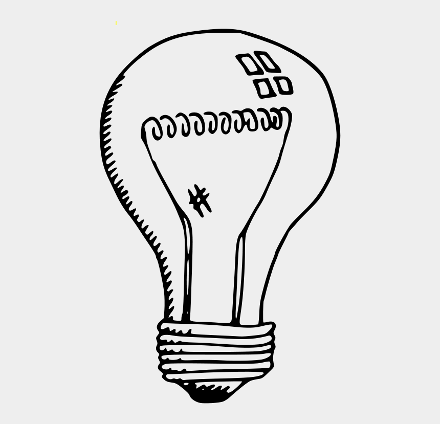 light reflection clipart, Cartoons - Incandescent Lamp Drawing