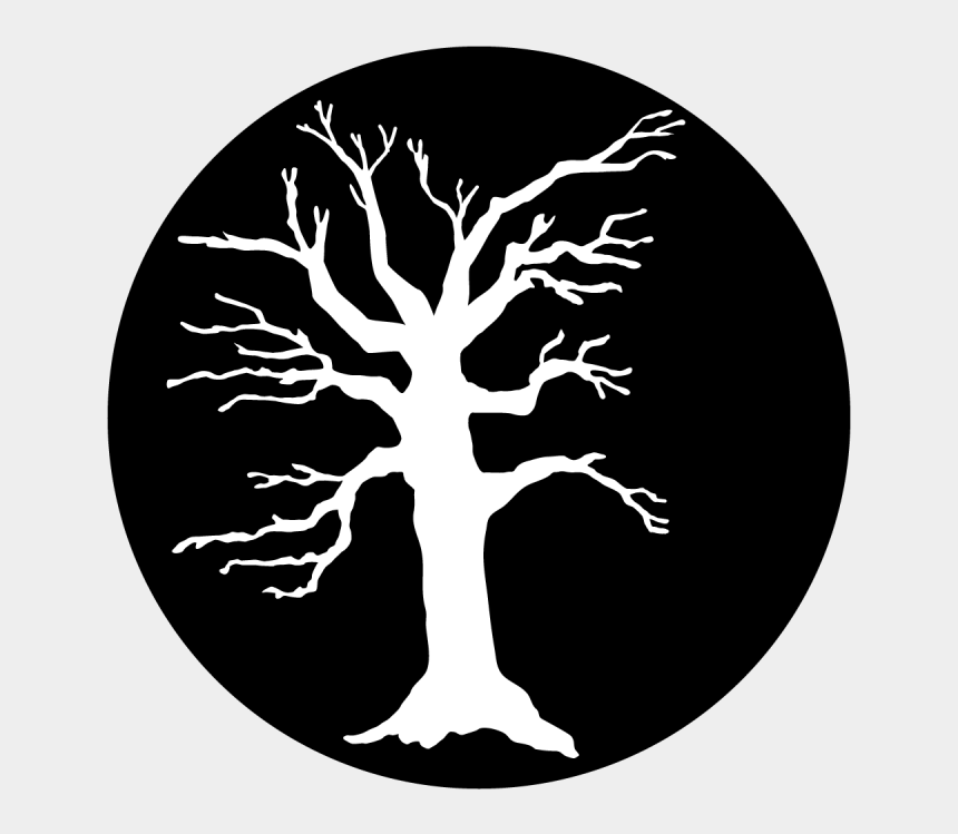 scary forest clipart, Cartoons - Scary Tree - Circle - Desenho De Arvore Branca