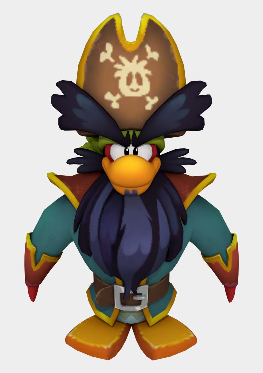 pirate hook hand clipart, Cartoons - Pirates Clipart Penguin - Club Penguin Island Captain Rockhopper