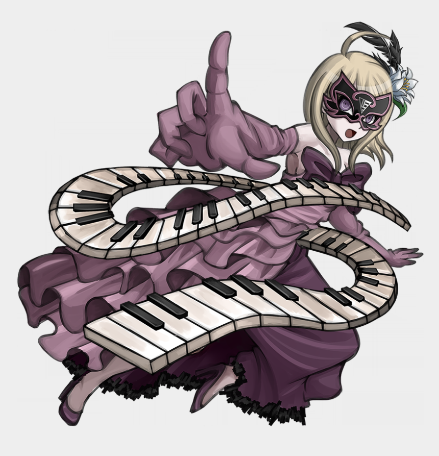 play the piano clipart, Cartoons - Image Argument Armament Kaede - Kaede Akamatsu Argument Armament