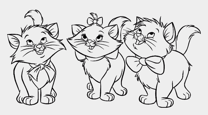 aristocats clipart, Cartoons - Bastion Drawing Coloring Page - Aristocats Coloring Pages