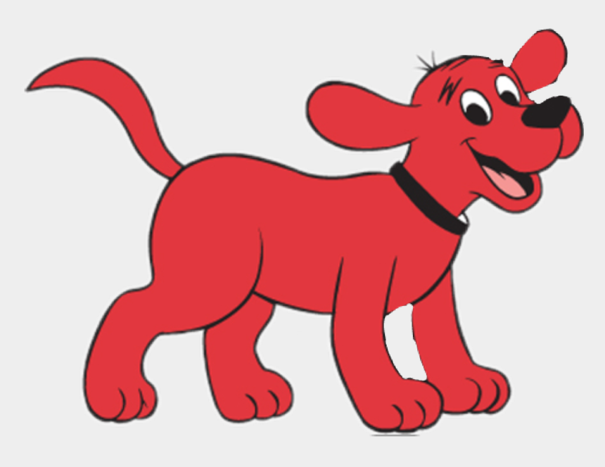 clipart clifford, Cartoons - Clifford Sticker - Clifford The Big Red Dog Running