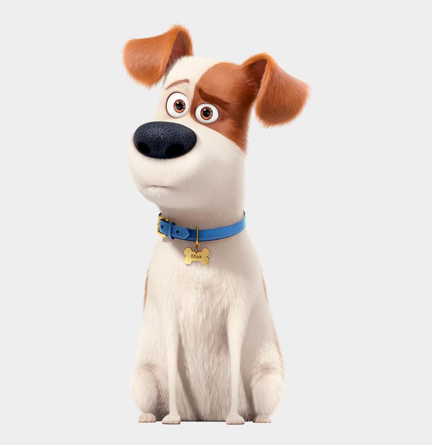 toto dog clipart, Cartoons - Max - Secret Life Of Pets 2 Characters