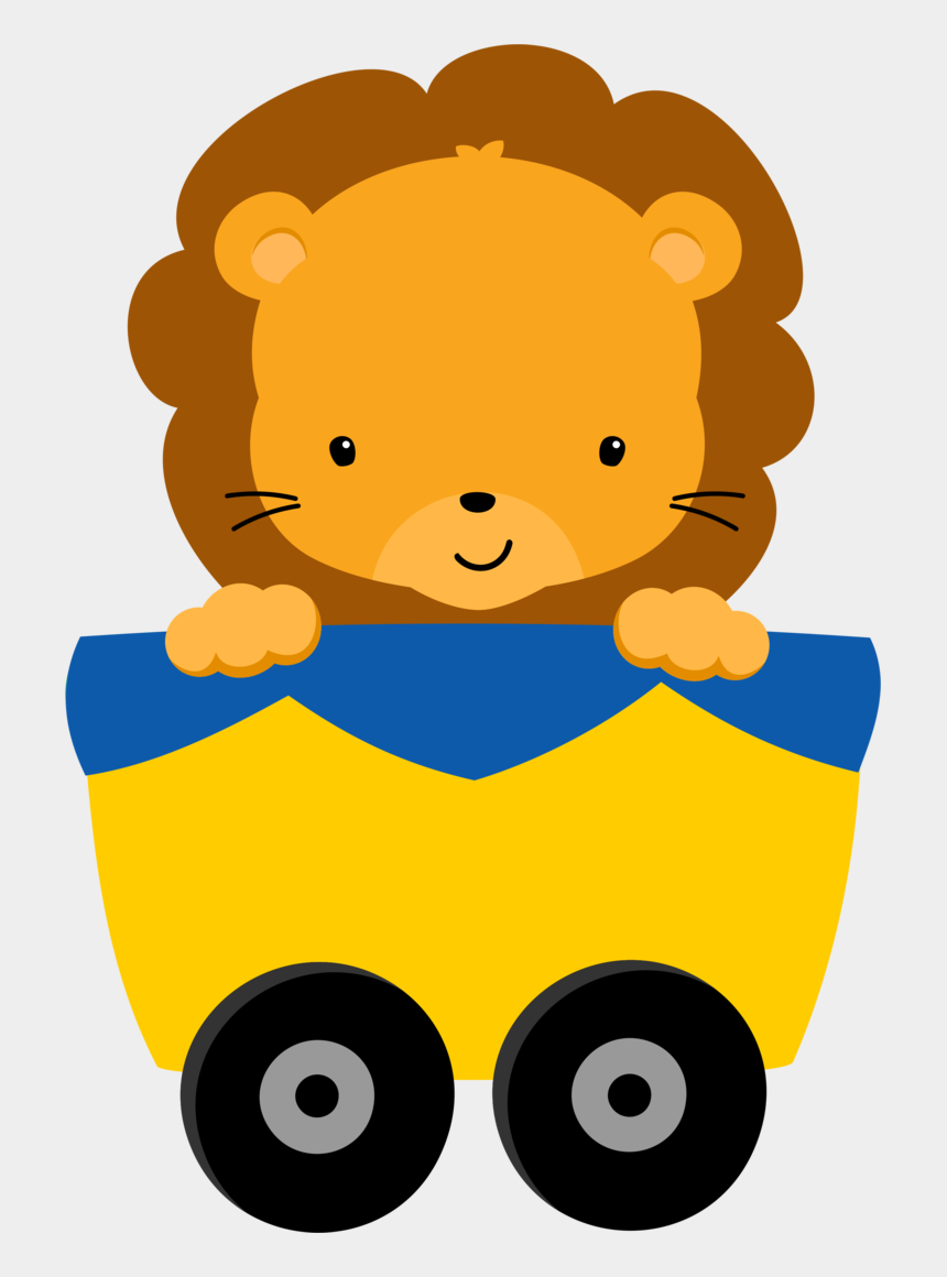 animal train clipart, Cartoons - Animalitos De La Selva Para Baby Shower Png