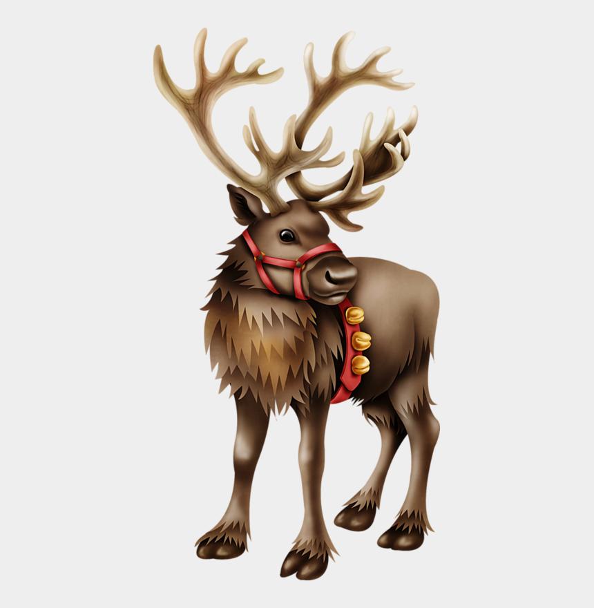Tube Image Noel.Christmas Reindeer More Tube Noel Traineaux Cliparts
