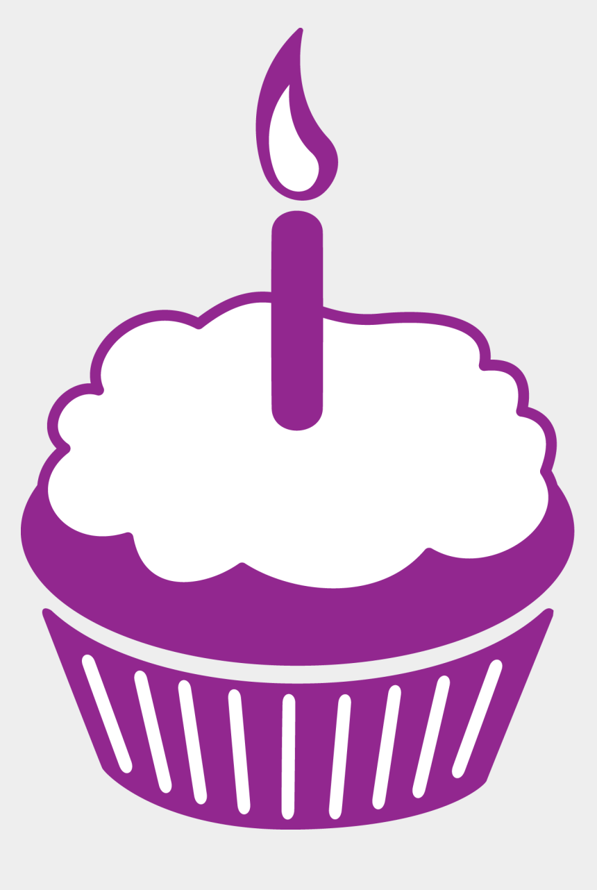 purple cupcakes clipart, Cartoons - Purple Cupcakes Happy Birthday Clip Art Cakepins - Birthday Cupcake Cake Clipart