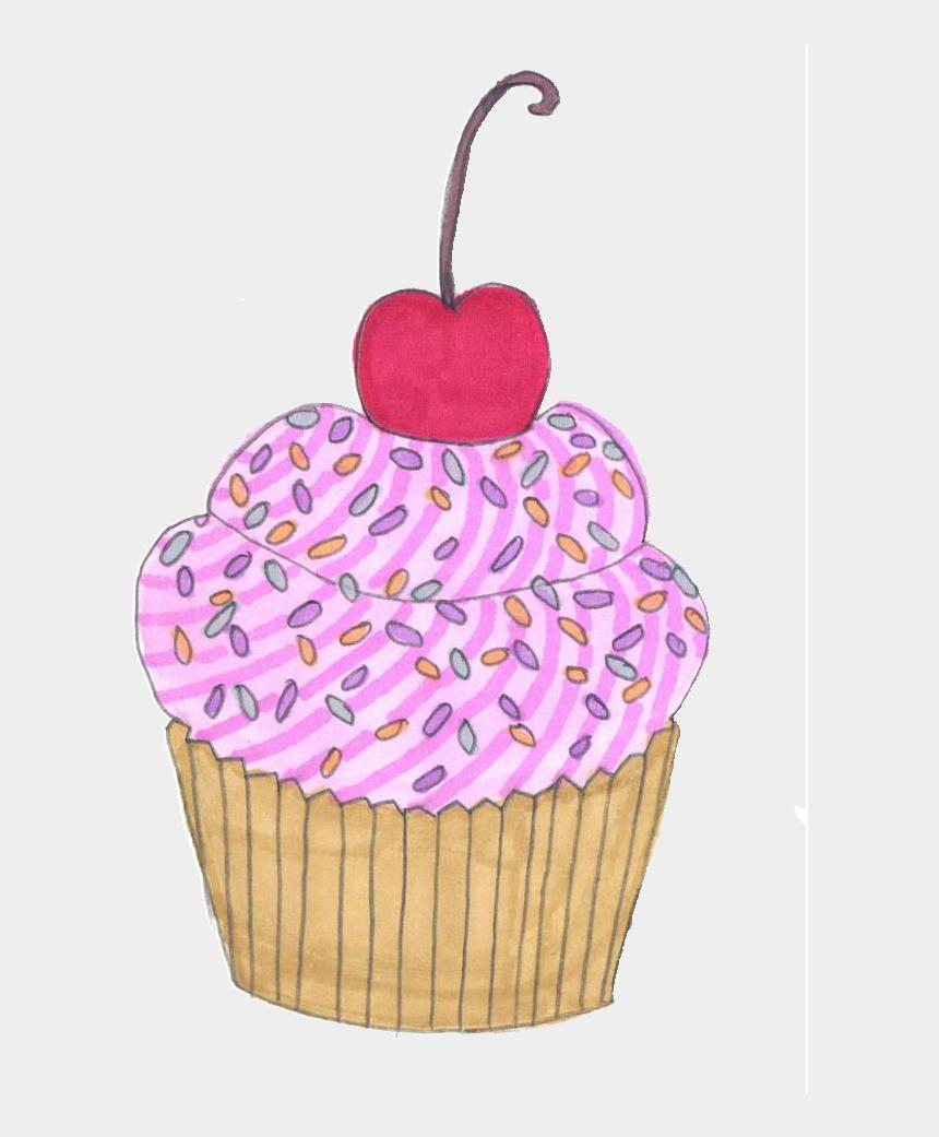 purple cupcakes clipart, Cartoons - Angel Wings Png Tumblr - Cupcake Tumblr Png