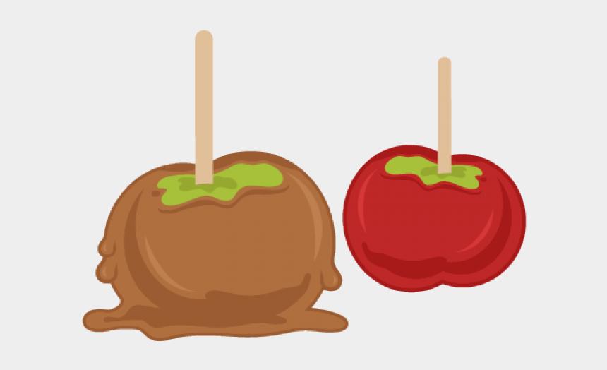 caramel candy clipart, Cartoons - Candy Apples Clip Art