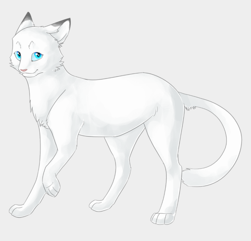 warrior cats clipart, Cartoons - Cinderella Cat Rp - Pelage De Neige Lgdc