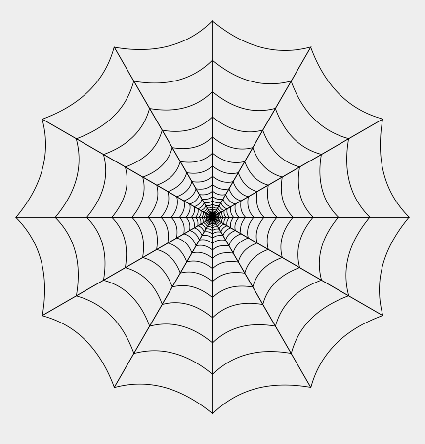 line pattern clipart, Cartoons - Pattern Clipart Spider Web - Spider Web No Background