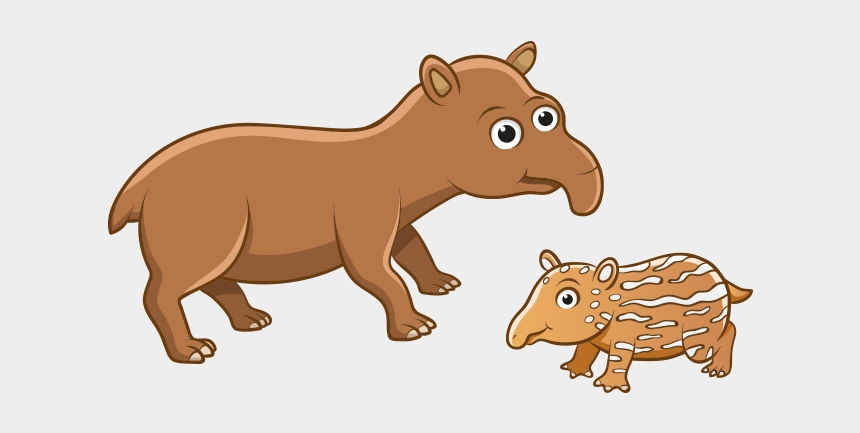 Clipart Tapir Hayvani Fauna De La Costa Ecuatoriana Animados Cliparts Cartoons Jing Fm