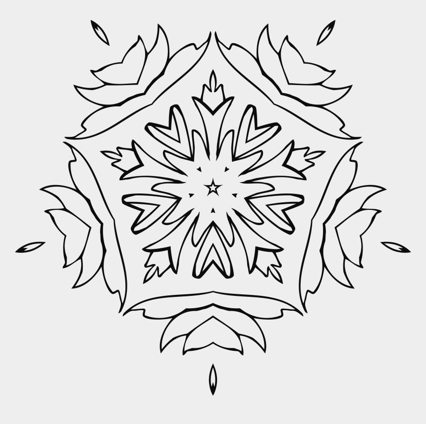 wall mirror clipart, Cartoons - Flower Art Big Image Png Ⓒ - Ornament Book Png
