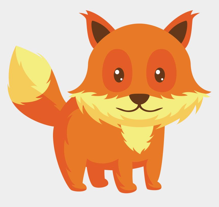 sleeping fox clipart, Cartoons - Clipart Fox Small Fox - Kartun Rubah