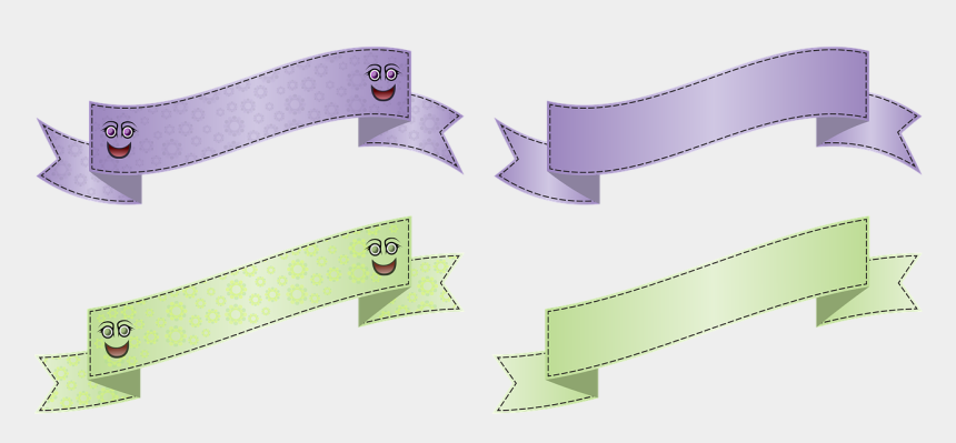 celebrate banner clipart, Cartoons - Banner Wave Arch - Parallel