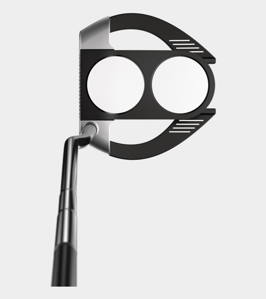 golf club putter clipart, Cartoons - Odyssey Stroke Lab 2-ball Fang Putter - Odyssey Stroke Lab 2 Ball Fang