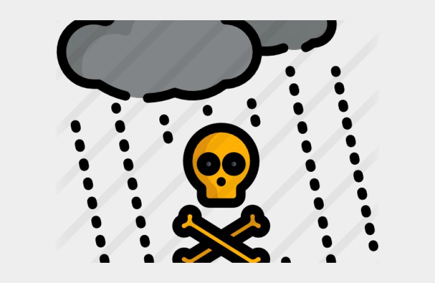 x clipart transparent background, Cartoons - Rain Clipart Transparent Background - Acid Rain Icon Png
