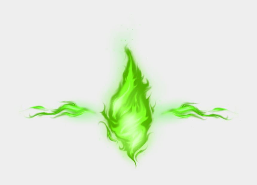 fire and smoke clipart, Cartoons - Green Fire Png - Green Fire Transparent Background