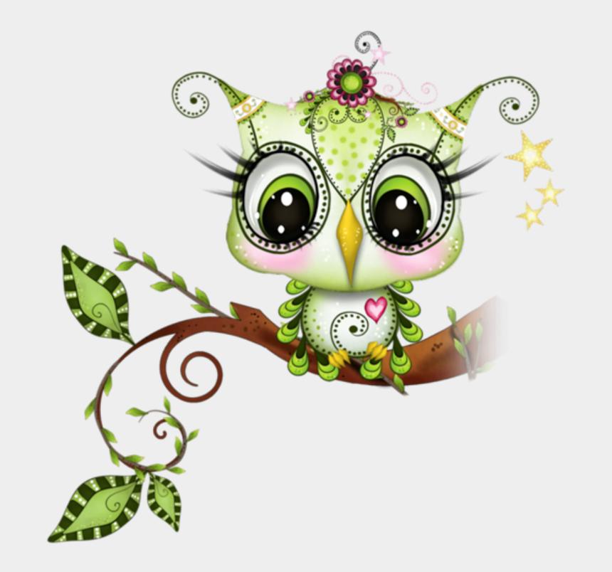 chip and dale clipart, Cartoons - Baby Owl Green Sweet Owl Clip Art, Owl Art, Bird Art, - Tube Chouette Et Hibou