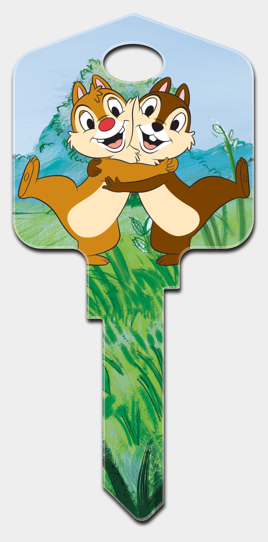 chip and dale clipart, Cartoons - Same Image Front & Back - Cartoon