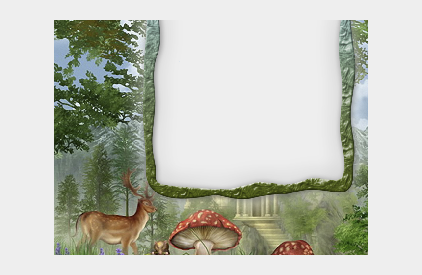 winter forest clipart, Cartoons - Forest Clipart Forest Border - Forest Frames