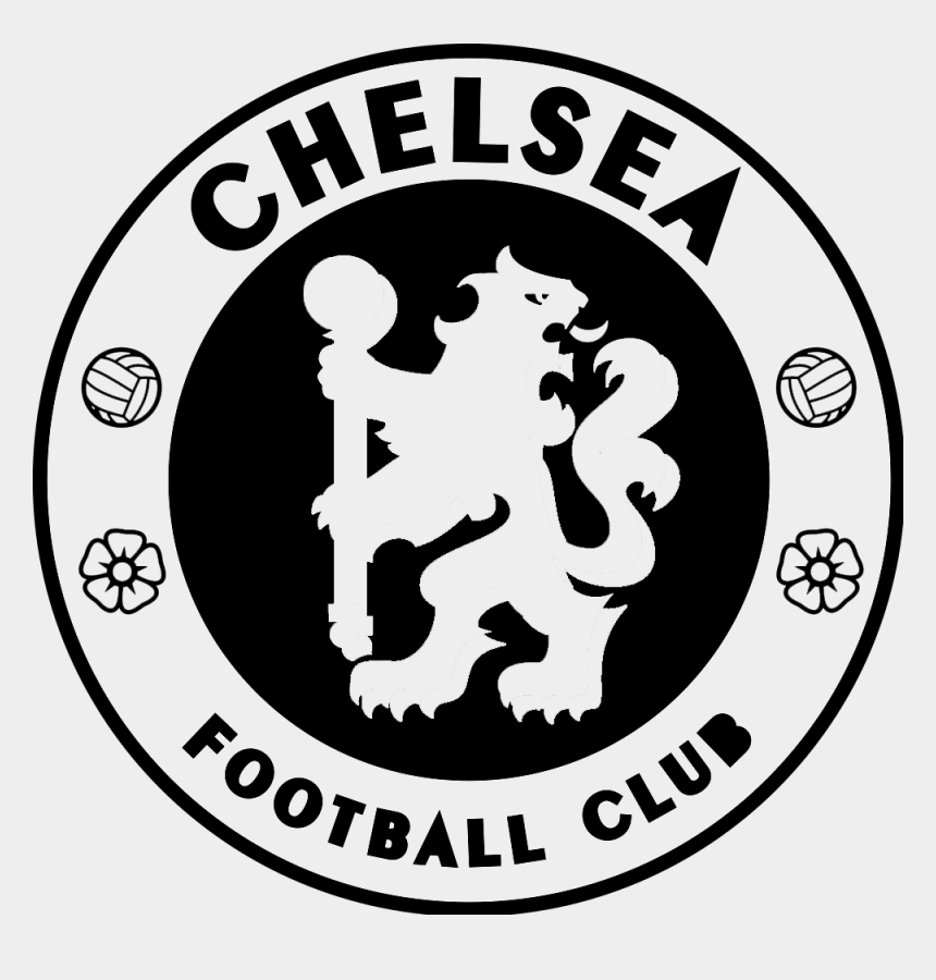 Chelsi Soccer Team Logo Png Images Chelsea Logo Black And White Vector Cliparts Cartoons Jing Fm