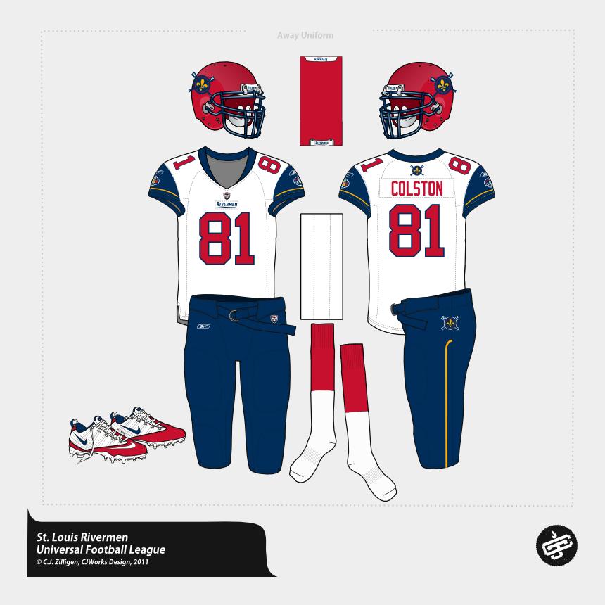 soccer uniform clipart, Cartoons - Football Uniforms, Helmets, Soccer Uniforms - Kick American Football