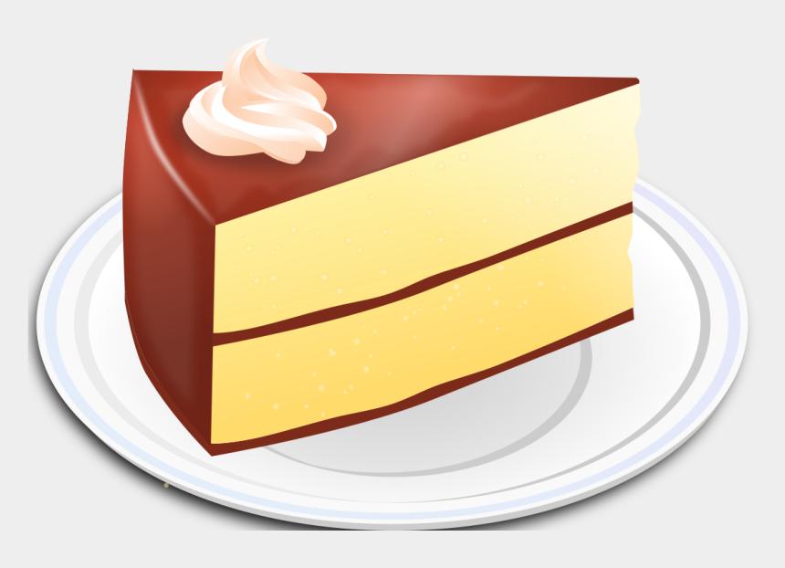 slice of chocolate cake clipart, Cartoons - File - Chocolate Cake - Svg - Vanilla Chocolate Cake Clipart