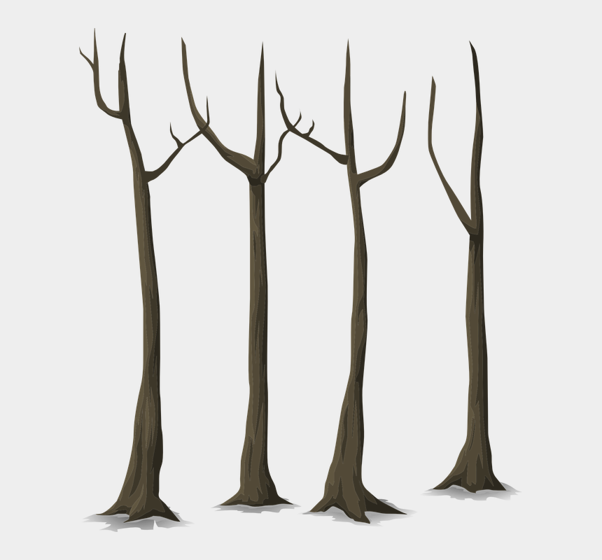 dying plant clipart, Cartoons - Trees, Dead, Autumn, Forest, Plants - Dead Forest Png