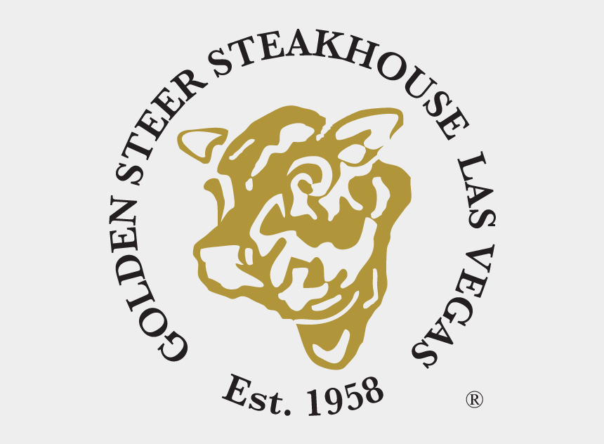 viva las vegas clipart, Cartoons - Golden Steer Steakhouse Las Vegas Logo - Golden Steer Las Vegas Logo