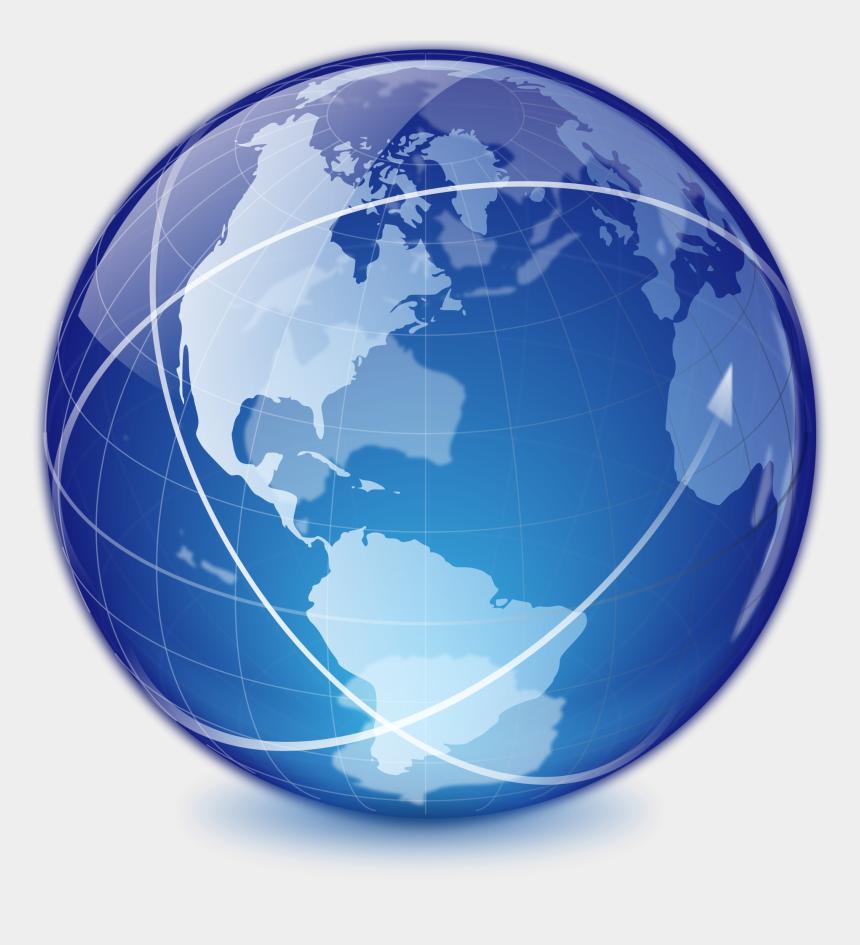internet globe clipart, Cartoons - Internet Transparent Globe - Transparent Background Globe Icon
