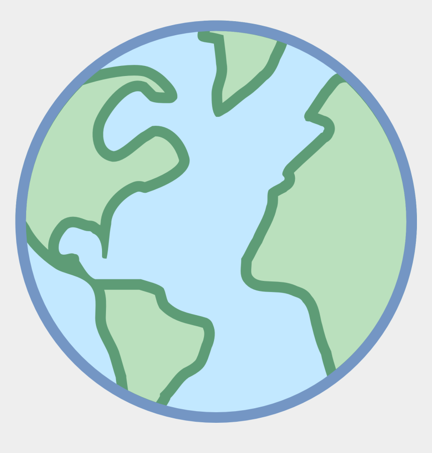 internet globe clipart, Cartoons - Iphone Globe Clipart - World Icon Color Png