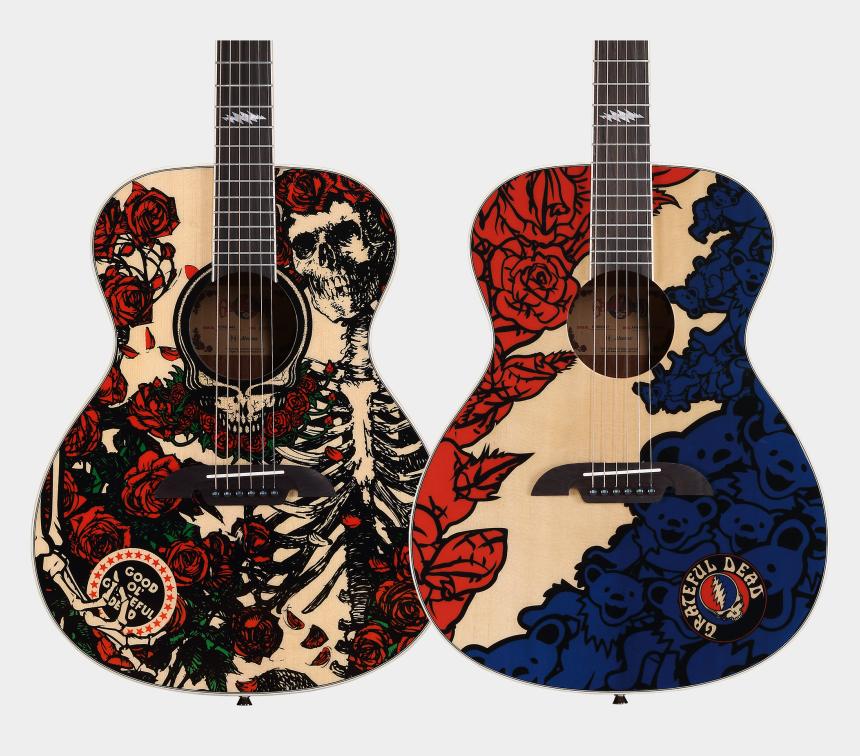 red electric guitar clipart, Cartoons - Alvarez Grateful Dead Acoustic Guitar