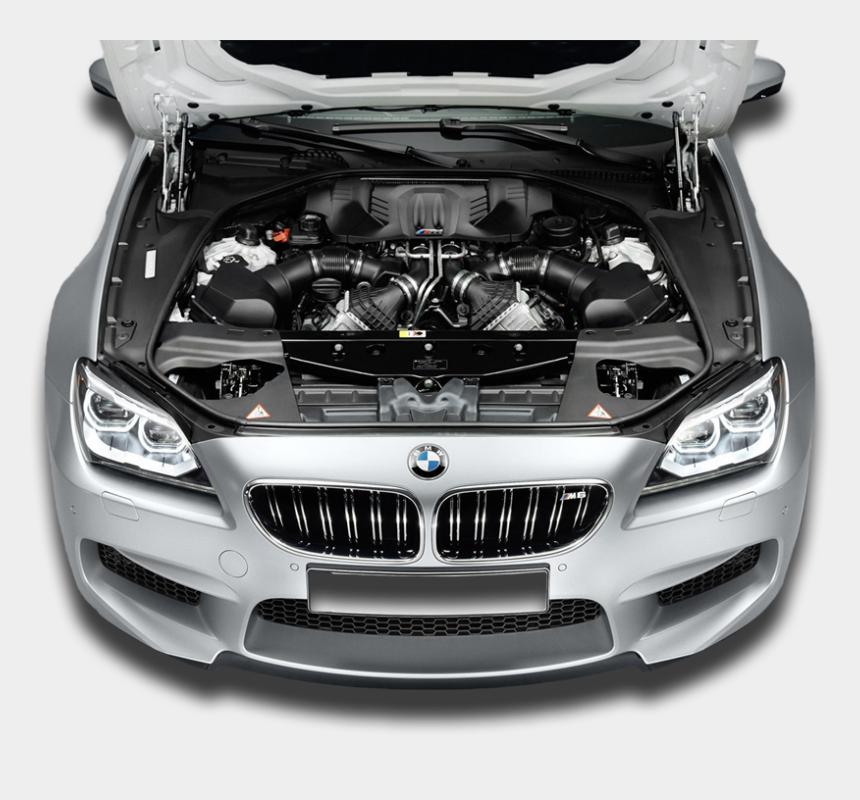 car exhaust clipart, Cartoons - Car Engine Png - Bmw M6 2014 Engine