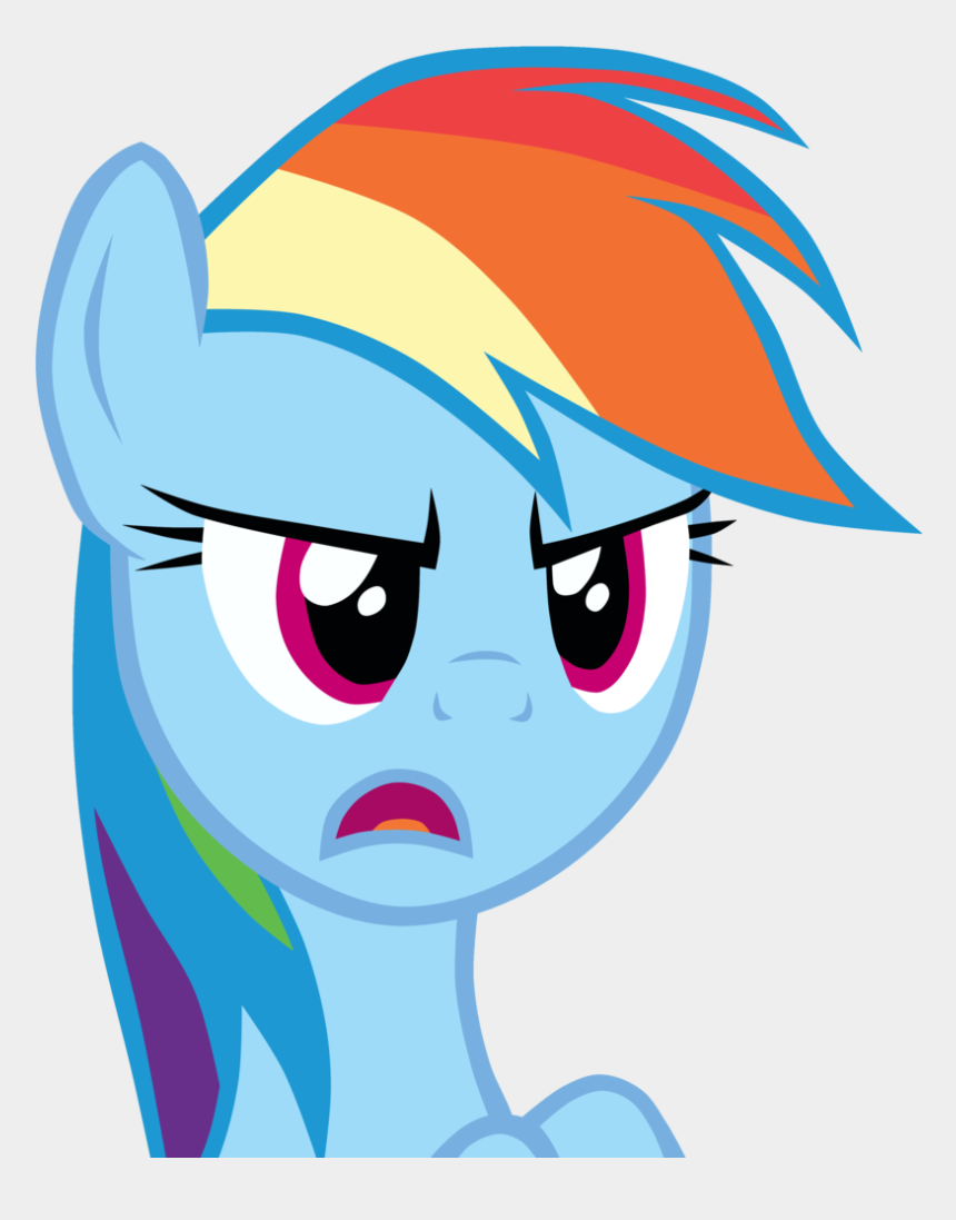 angry eyebrows clipart, Cartoons - Artist Thunder Female High Res Mare Ⓒ - Mlp Reaction
