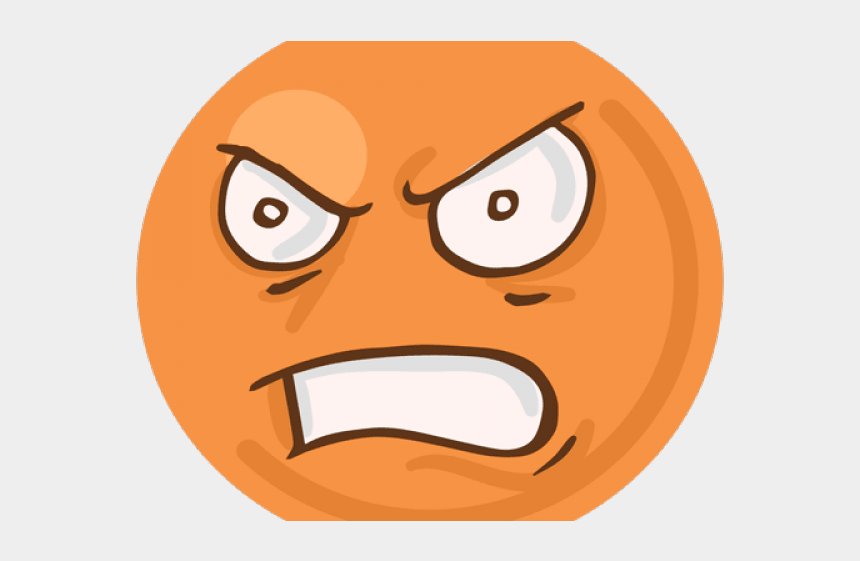 angry eyebrows clipart, Cartoons - Angry Emoji Clipart Clear Background - Emoji