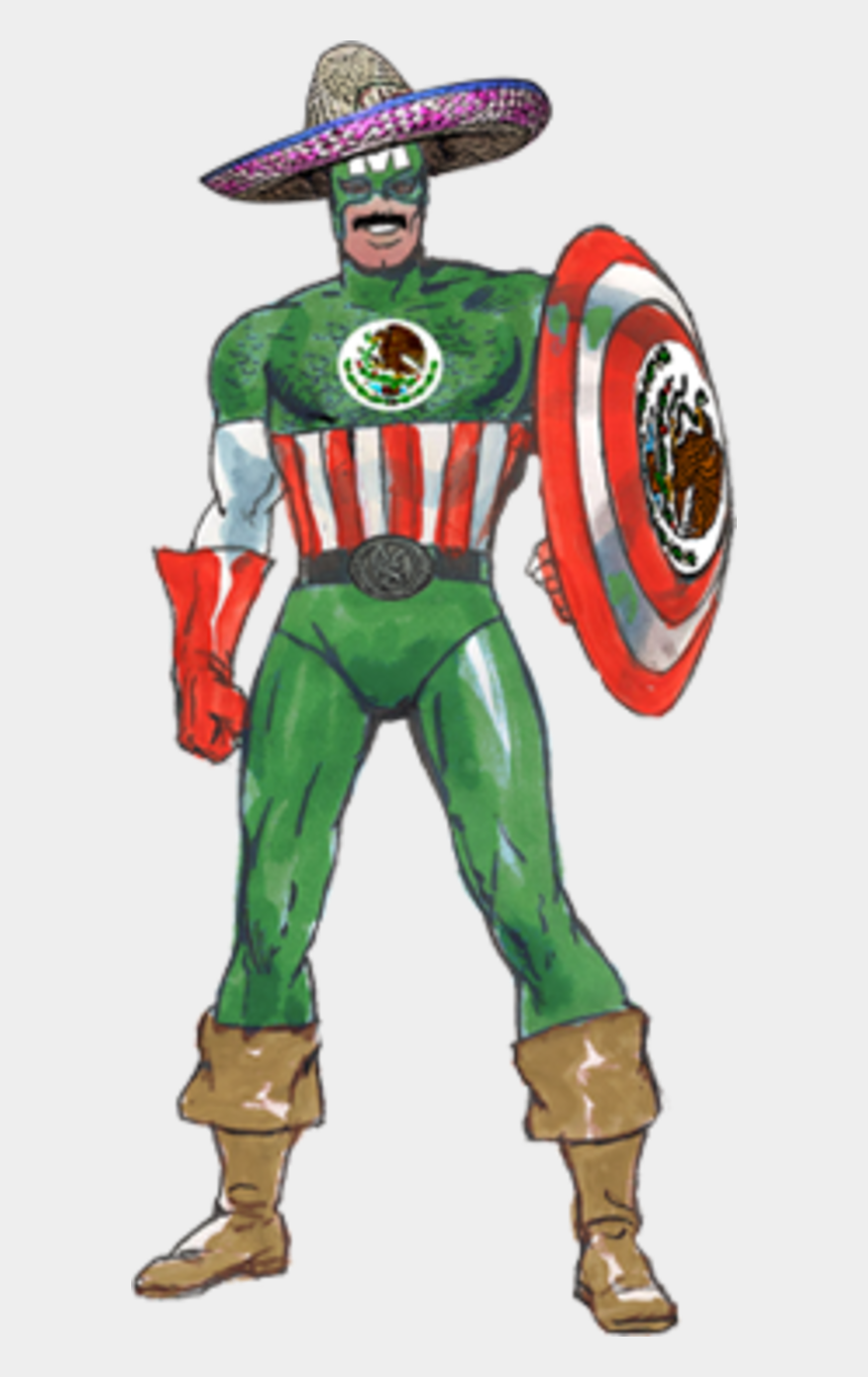 captain america face clipart, Cartoons - Captain America - Senior Mexico - Captain Mexico