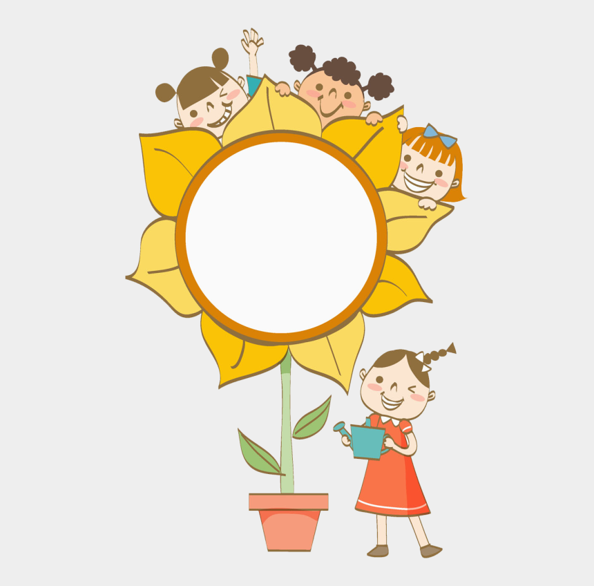 6th grade science clipart, Cartoons - Growing In God's Love - Flower Child Clipart