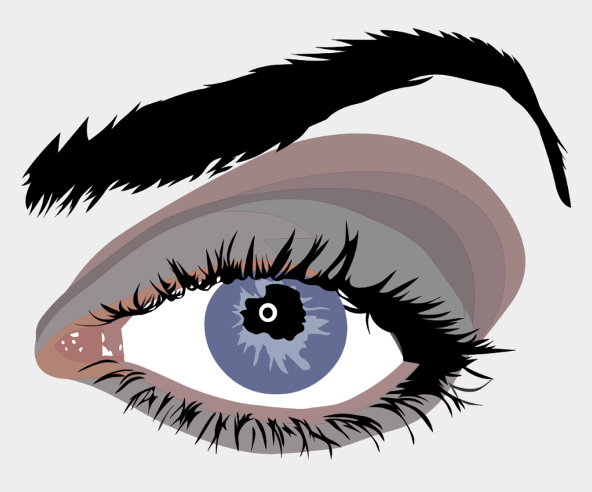 girl with brown hair and brown eyes clipart, Cartoons - Clip Art Details - Eyelash Vector Png