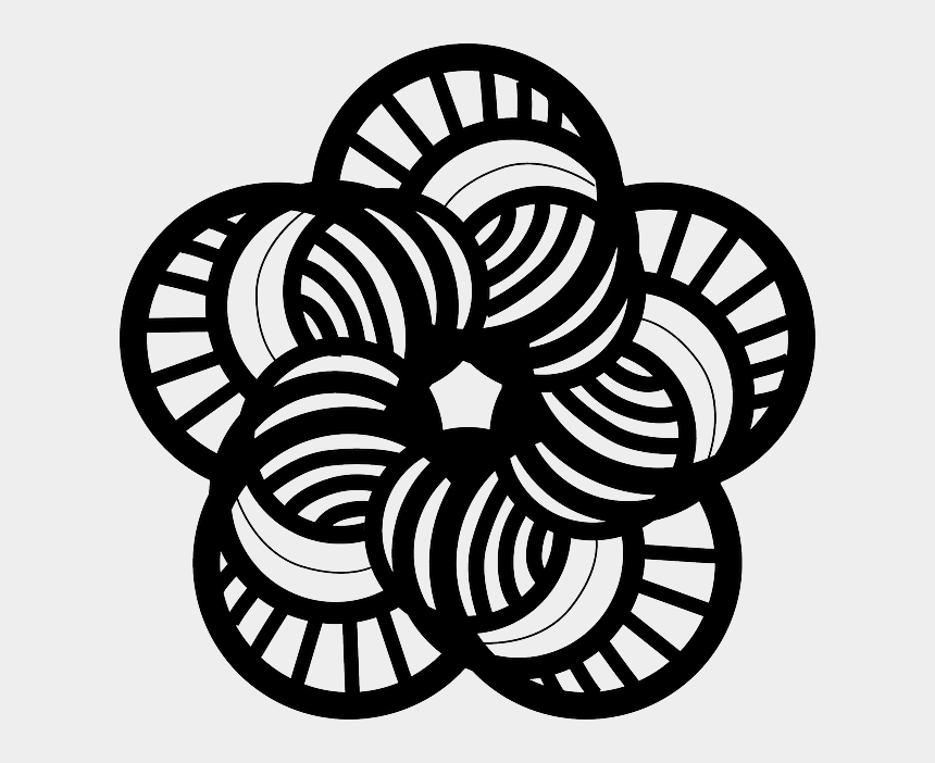 japan clipart black and white, Cartoons - Japanese Flowers, Japanese Art, Stamp Carving, Clips, - Line Art Black And White Clipart Flowers