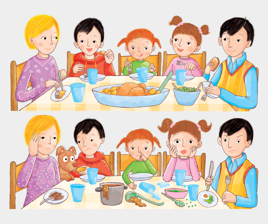 """kid eating cereal clipart, Cartoons - """"let's Have A Make It Your Own Dinner """" """"what - Cartoon"""