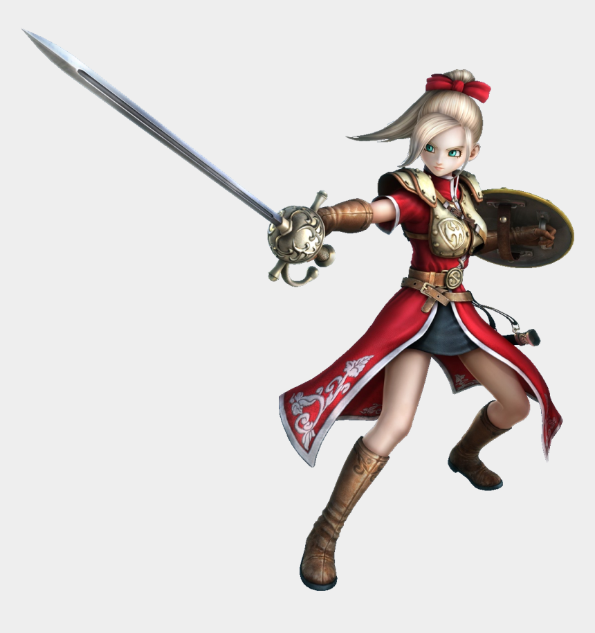 warrior woman clipart, Cartoons - Aurora Dragon Quest Heroes Wiki Fandom Powered Ⓒ - Dragon Quest Heroes Luceus And Aurora